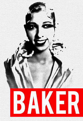 Mixed Media - Baker by MB Dallocchio
