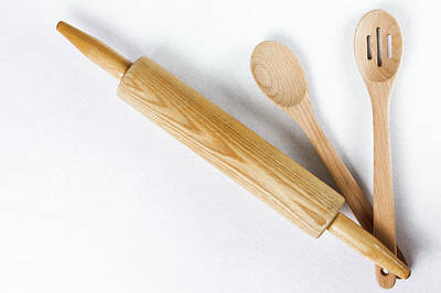 Photograph - Baking Tools by Jeanette Fellows