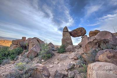 Photograph - Balanced Rock by Joe Sparks