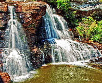 Photograph - Balckwater Falls - Closeup by Paul Croll