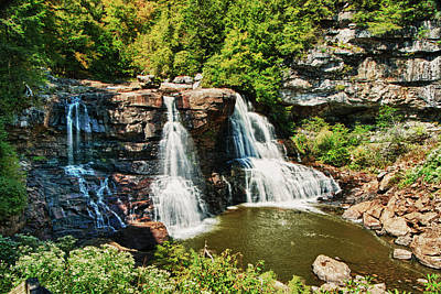 Photograph - Balckwater Falls - Wide View by Paul Croll