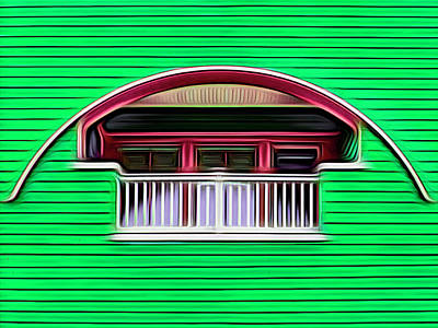 Royalty-Free and Rights-Managed Images - Balcon Empotrado by Paul Wear