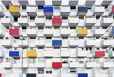 Balcony Photograph - Balconies by Christian Beirle González