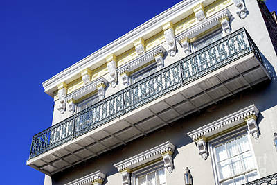 Photograph - Balcony Angles New Orleans by John Rizzuto