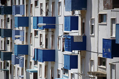 Balcony Photograph - Balcony Blues by Photograph © Eke Miedaner