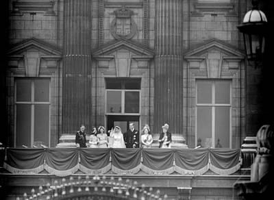 Balcony Photograph - Balcony Scene by Keystone