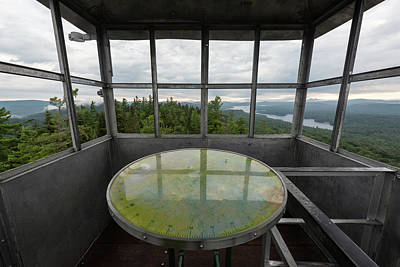 Photograph - Bald Mountain Firetower Ne by Brad Wenskoski