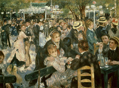 Painting - Ball At The Moulin De La Galette by Superstock