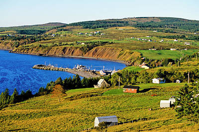 Photograph - Ballantynes Cove, Nova Scotia, Canada by Barrett & Mackay