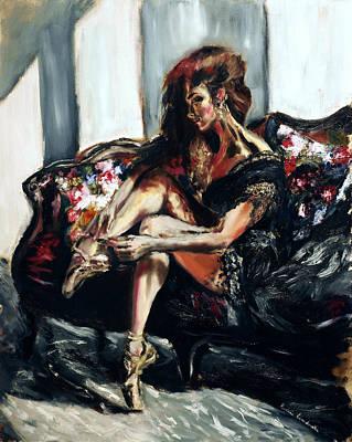 Painting - Ballerina I by Ruslana Levandovska