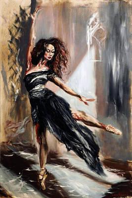 Painting - Ballerina II by Ruslana Levandovska
