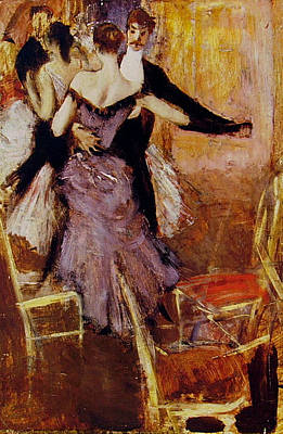 Movies Star Paintings - Ballerina in Mauve by Giovanni Boldini