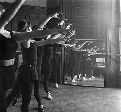 Photograph - Ballet Class by Chris Ware
