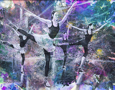 Target Threshold Nature - Ballet Warm Up by Patricia Allingham Carlson