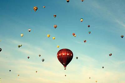 Photograph - Balloon Fiesta by Elizabeth O. Weller