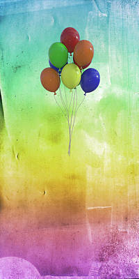 Royalty-Free and Rights-Managed Images - Balloons by Betsy Knapp