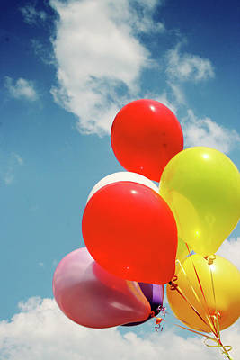 Photograph - Balloons by Charlotte Morrall