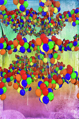 Royalty-Free and Rights-Managed Images - Balloons Everywhere by Betsy Knapp