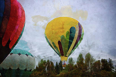 Photograph - Balloons by Thom Zehrfeld