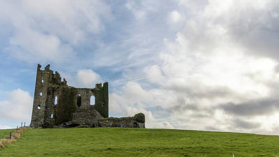 Photograph - Ballycarbery Castle Ireland  County Kerry Ireland  by John McGraw