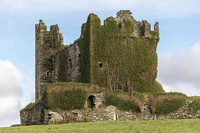 Photograph - Ballycarbery Castle Ireland  by John McGraw