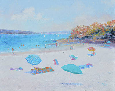 Painting - Balmoral Beach Day by Jan Matson