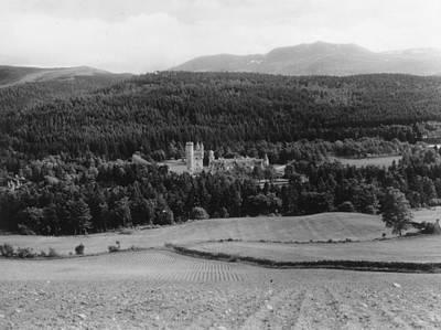 Balmoral Castle Art Print by Fox Photos