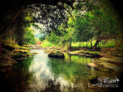 Photograph - Balthazar River by Laura Forde
