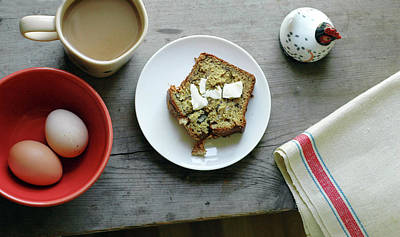 Linen Wall Art - Photograph - Banana Bread For Breakfast by Jennifer Causey