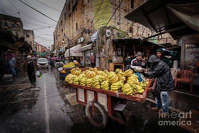 Photograph - Banana Seller Of Saida by Naoki Takyo