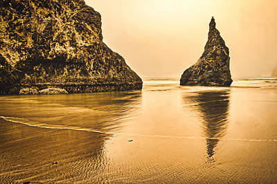 Photograph - Bandon Sea Stacks Sunset #2 - Oregon by Stuart Litoff