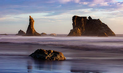 Louis Armstrong - Bandon Seastacks by Jerry Fornarotto