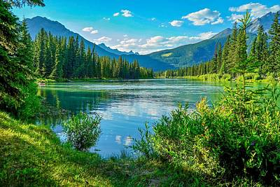 Photograph - Banff Bliss by Susan Rydberg