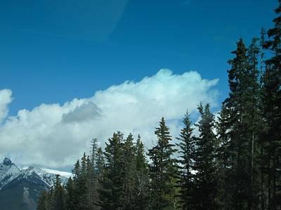 Digital Art - Banff Trip 2007 Car Ride-3 by Doug Morgan