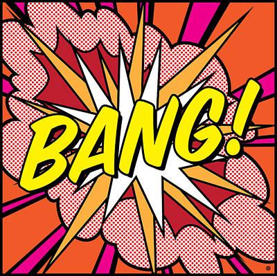 Painting - Bang by Gary Grayson