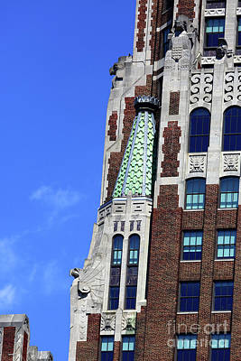 Photograph - Bank Of America Building Detail Baltimore by James Brunker