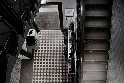 Photograph - Bannister Lines by Doc Braham