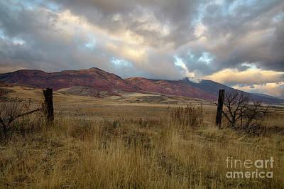 Photograph - Bannock Range by Idaho Scenic Images Linda Lantzy