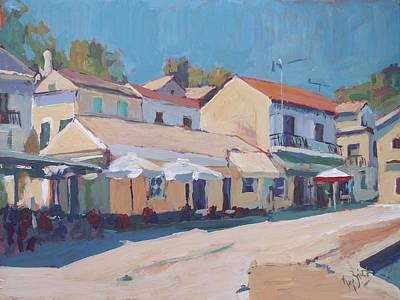 Painting - Bar Europa Loggos by Nop Briex