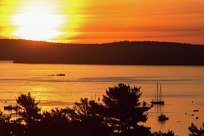 Photograph - Bar Harbor Sunrise by Stefan Mazzola