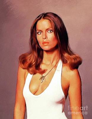 Royalty-Free and Rights-Managed Images - Barbara Bach, Actress by John Springfield