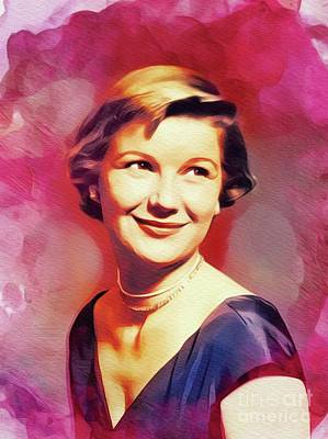 Royalty-Free and Rights-Managed Images - Barbara Bel Geddes, Hollywood Legend by Esoterica Art Agency