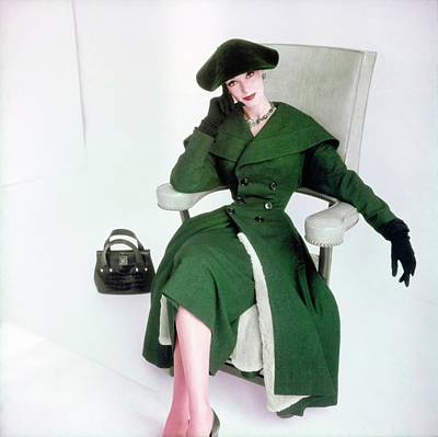 Photograph - Barbara Mullen In Sophie Originals by Horst P. Horst