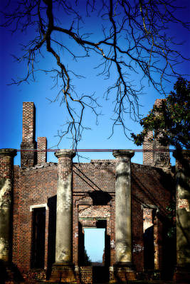 Photograph - Barbour Ruins by Alan Raasch