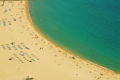 Photograph - Barcelona Beach by Dhuss