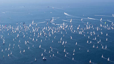 Photograph - Barcolana Autumn Cup Regatta 2018 by Helga Novelli