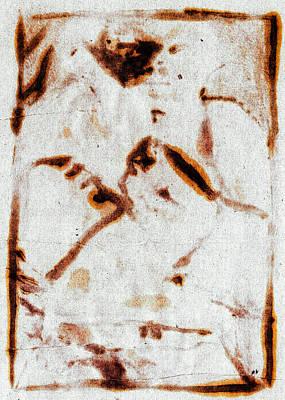 Digital Art - Bare Knuckle Boxer Digital Brown by Artist Dot