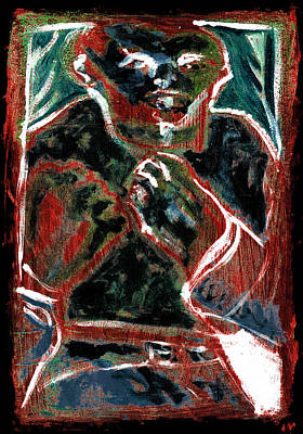 Digital Art - Bare Knuckle Boxer Rust by Artist Dot