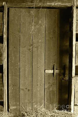 Landscape Photos Chad Dutson - Barn Door Omagh Tint by Eddie Barron