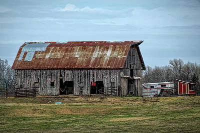 Photograph - Barn by Patricia Cale